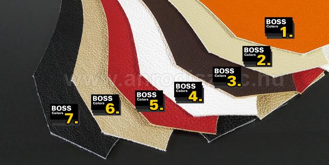 Bőrpanelek bőr színmintái - rendelhető színek