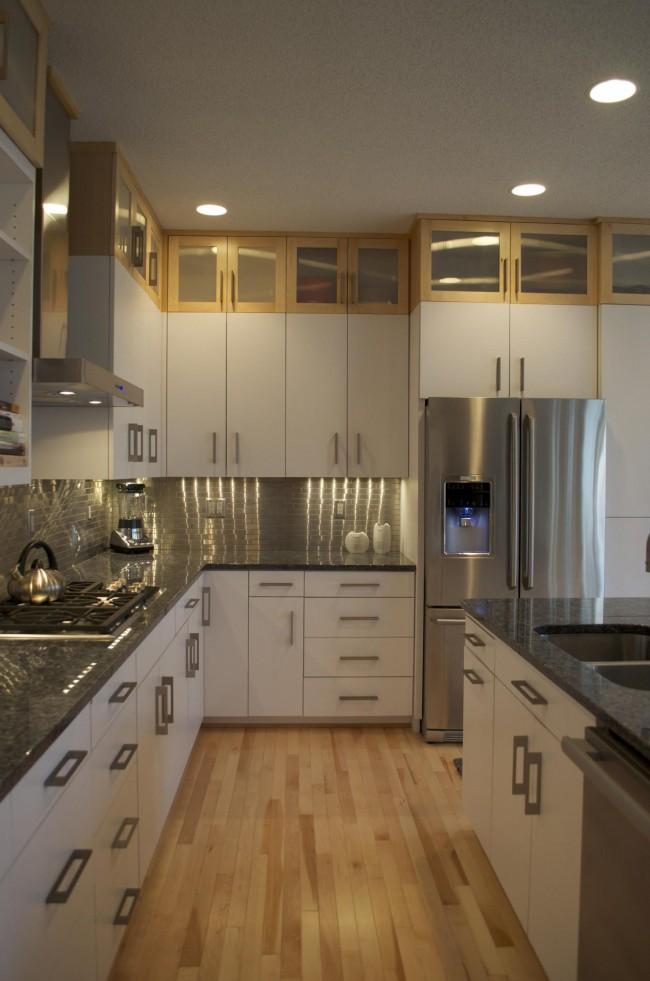 Imádnivaló fehér konyhák - Díszléc és LED lámpa Webáruház