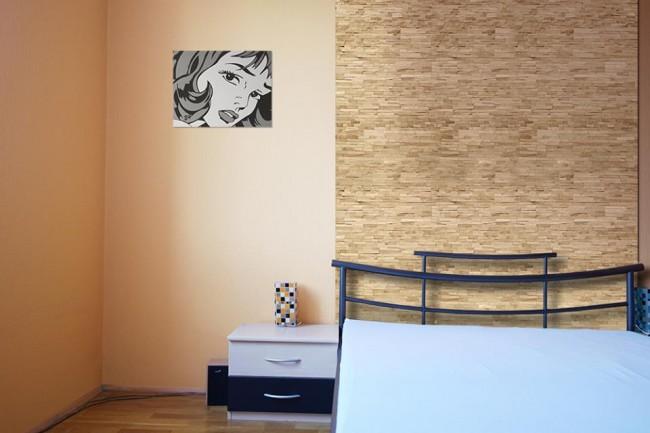 3D fa burkolat a lakásban - Díszléc és LED lámpa Webáruház