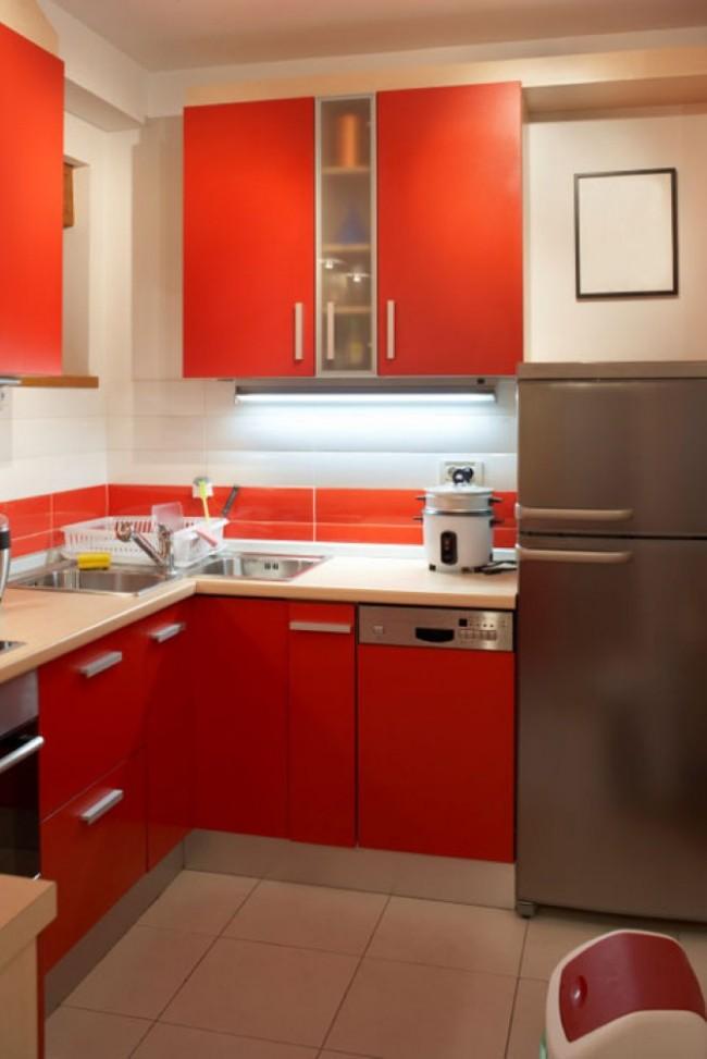 Kis lakásban kis konyha - Díszléc és LED lámpa Webáruház