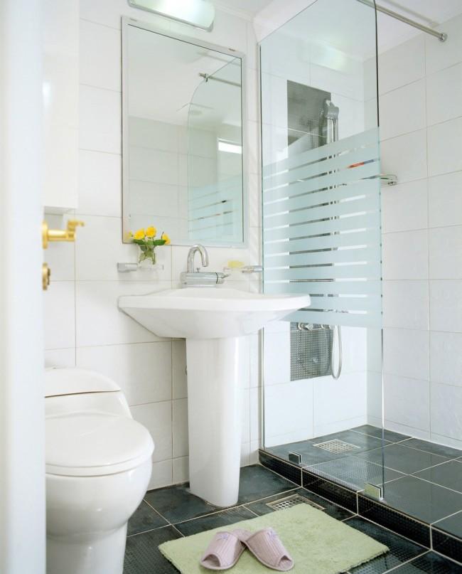 Cimke - fürdőszoba, üveg
