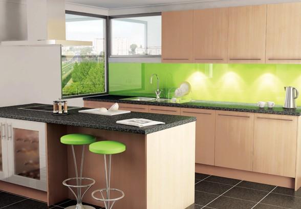 Színfolt a konyhában - üveg hátfal panelek - Díszléc és LED lámpa Webáruház