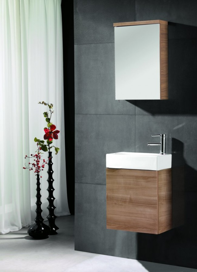 Kis mosdókagylók kis fürdőszobákba - Díszléc és LED lámpa Webáruház