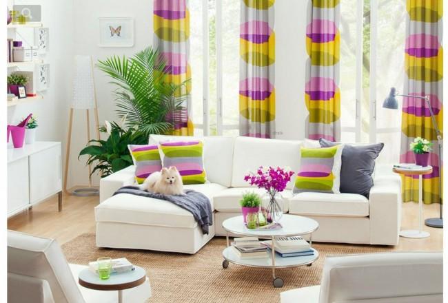 Felvidító színes függönyök télire - Díszléc és LED lámpa Webáruház