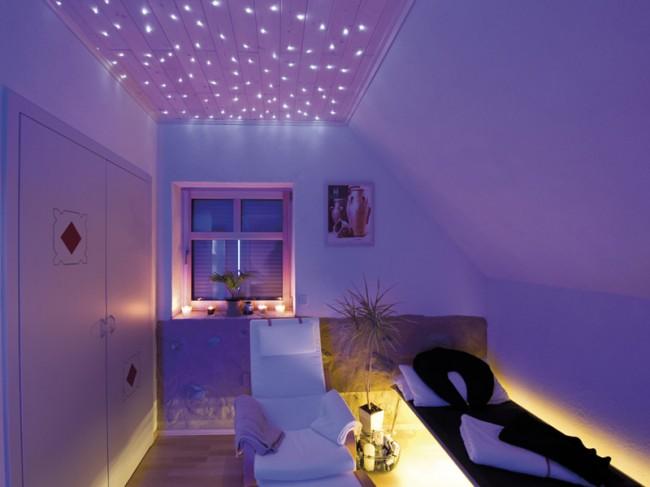 Csillagos mennyezet ötletek LED-ekkel - Díszléc és LED lámpa Webáruház
