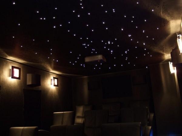 Blog - Etoiles fluorescentes plafond chambre ...