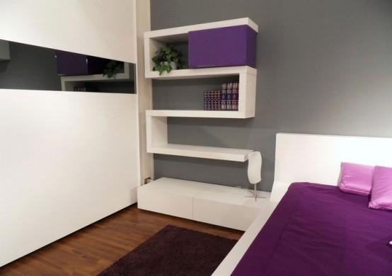 Kis méretű modern fali tárolók - Díszléc és LED lámpa Webáruház