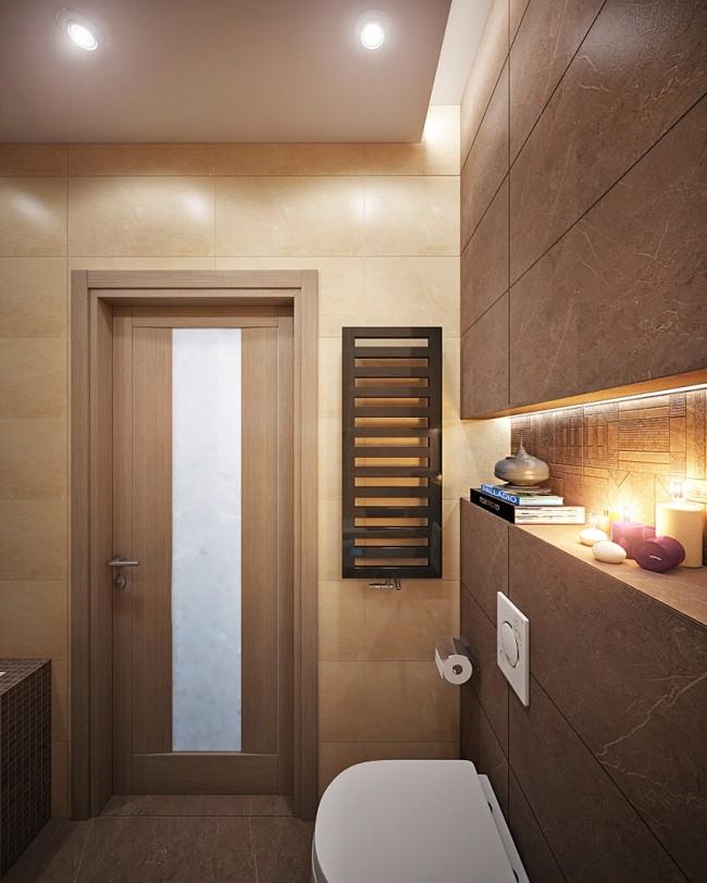 5 nm-es fürdőszoba 6 nézőpontból - Díszléc és LED lámpa Webáruház