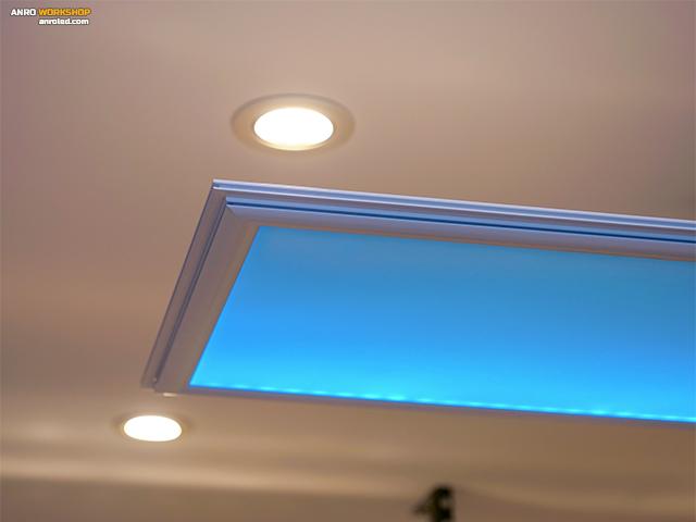 Egy ilyen RGB LED panelt fogunk készíteni