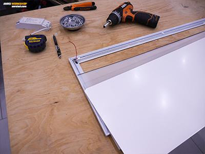 A LED panel fényvisszaverő rétegeinek bemutatása