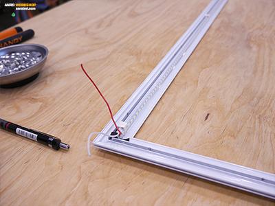 Alumínium alaplapra szerelt 2835 Chip On Board led a panelhez