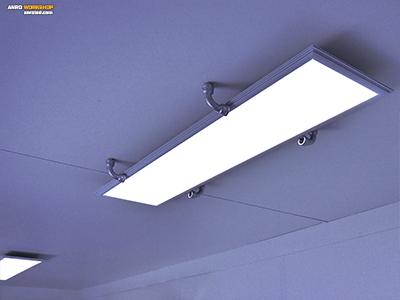 Víz- gázszerelvény bolt led paneles világítás radiátor dugó tartó
