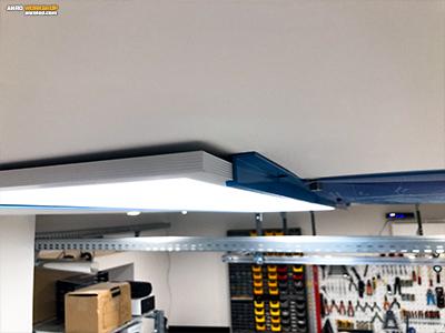 Egyenlőtlen szárú alumínium lépcsős idom, Z profil LED panel tartó