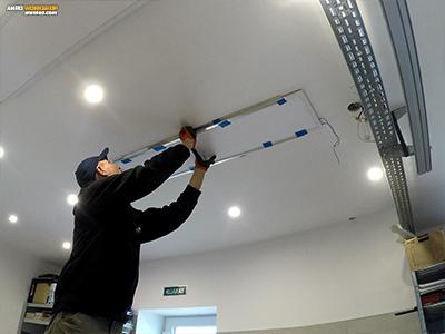 LED panel mennyezeti szerelése