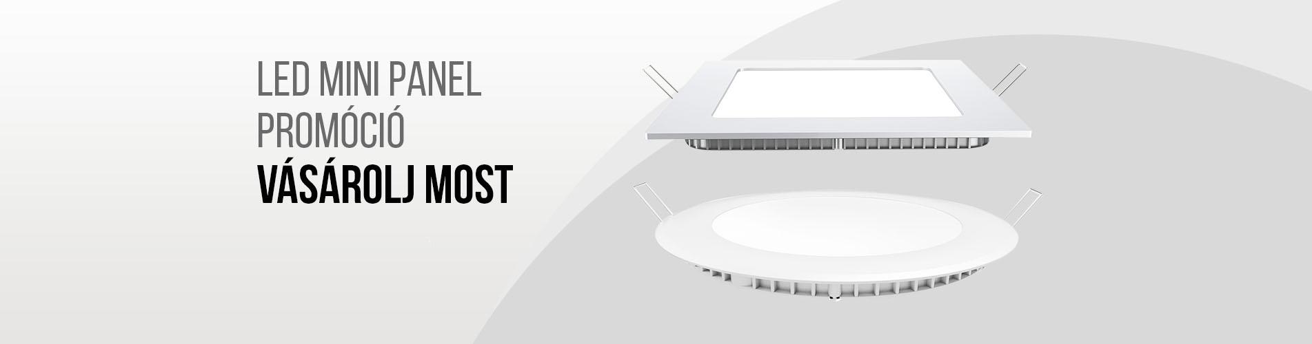 Akciós LED panelek