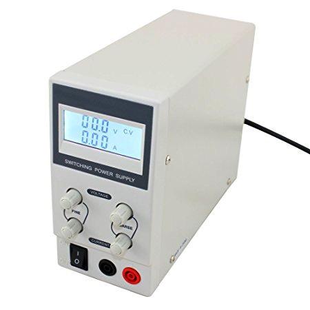 Labor tápegység a LED szalagok teszteléséhez