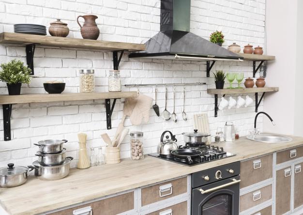 Fehér falpanel falburkolat konyhába