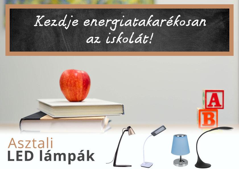 Energiatakarékos asztali led lámpák!