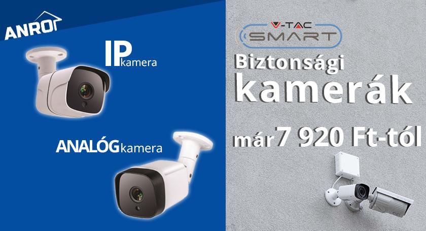 Smart biztonsági kamerák az ANRO-nál!