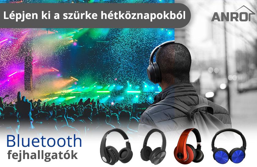 V-TAC bluetooth fejhallgatók