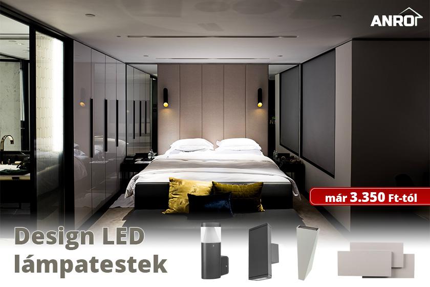 Design LED lámpatestek már 3.350 Ft-tól!
