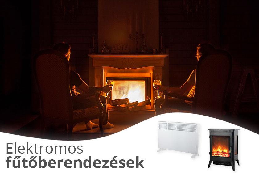 Elektromos fűtőberendezések az ANRO-nál!
