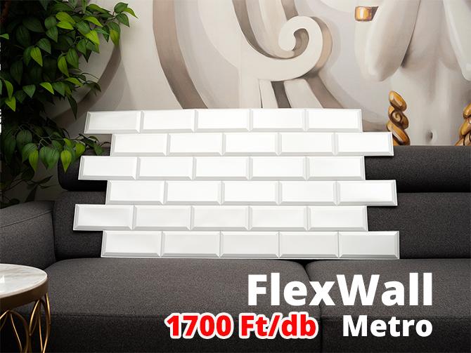FlexWall Metro csempe akció
