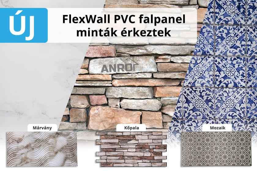 Új FlexWall falpanelek érkeztek kínálatunkba!