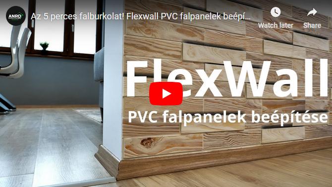 5 pereces falburkolat: FlexWall falpanelek új típusai érkeztek!