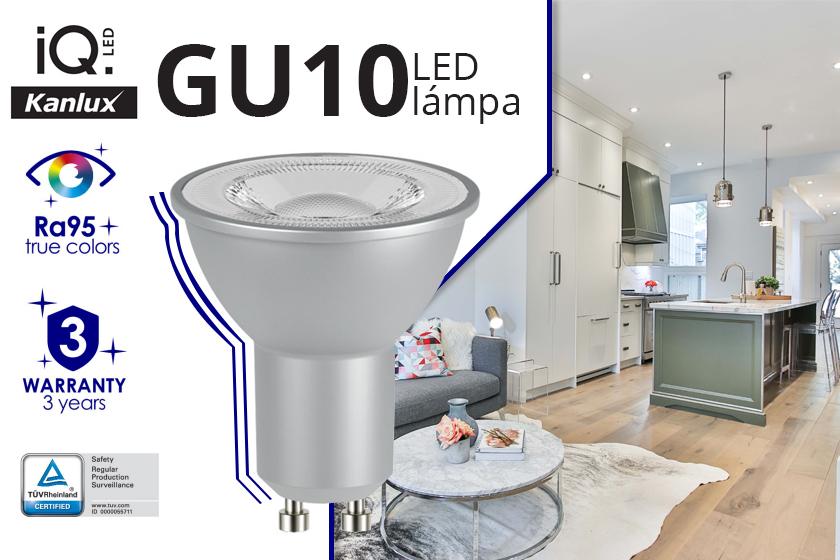 Kanlux IQ GU10 LED lámpák az ANRO-nál!