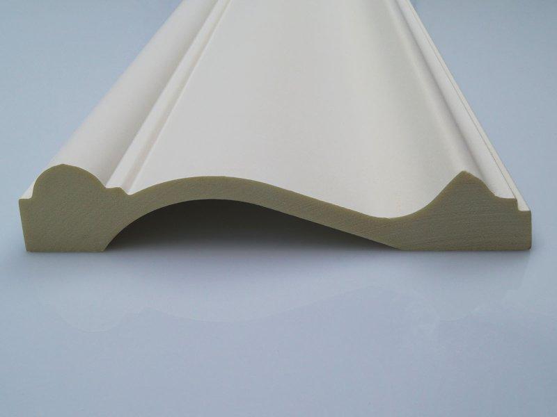Elite Decor CR845 oldalfalra való poliuretán díszléc - sima felületű profil fali dekorációnak