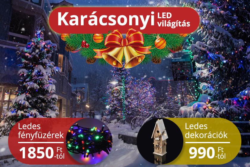 Karácsonyi LED termékek