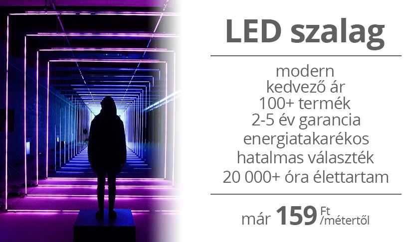 LED szalagok hatalmas választékban az ANRO-tól!