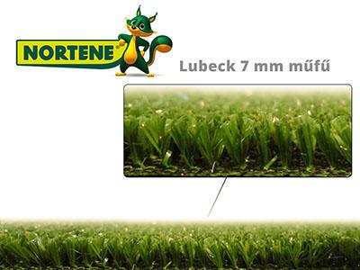 Nortene Lubeck műfű - 7 mm szálhosszúságú mesterséges gyep - karbantartás nélküli gyönyörű kert
