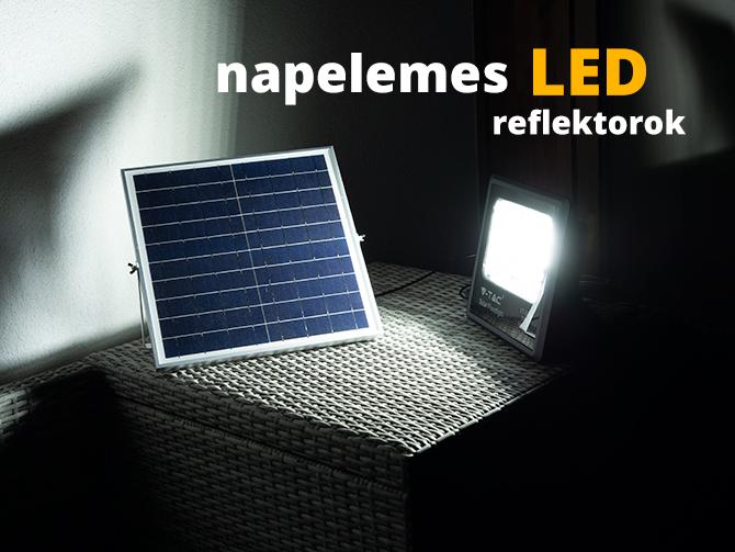 Napelemes LED reflektorok!