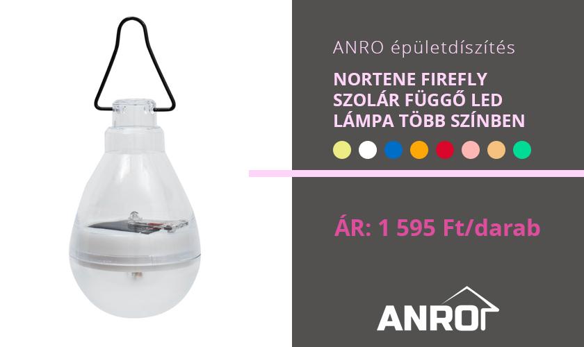 Nortene Firefly dekorációs szolár lámpák!