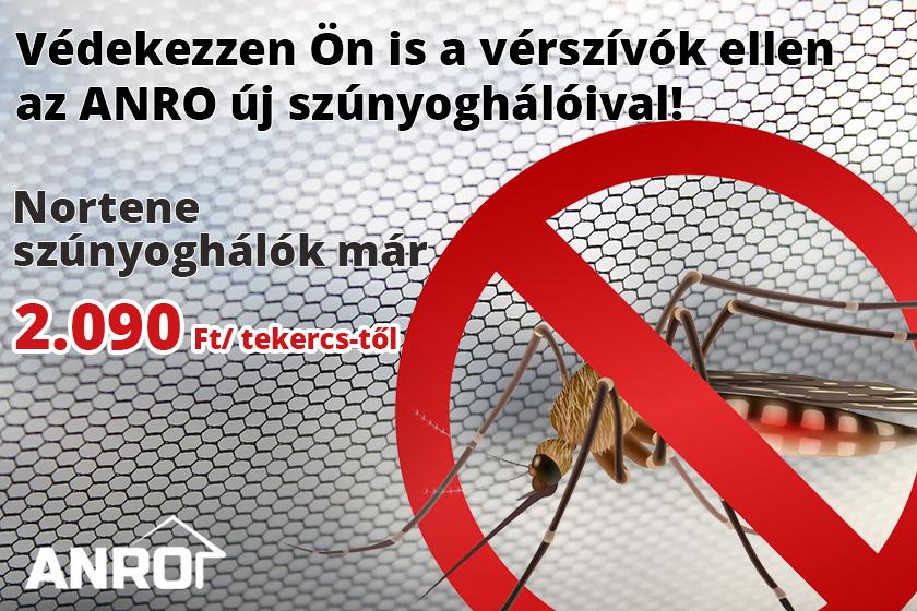Védekezzen szúnyoghálóval a nem kívánt rovarok ellen!