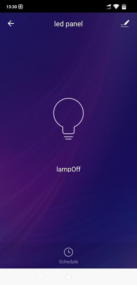 Smart V-TAC LED panel - színhőmérséklet és fényerőszabályzás - telepítési útmutató