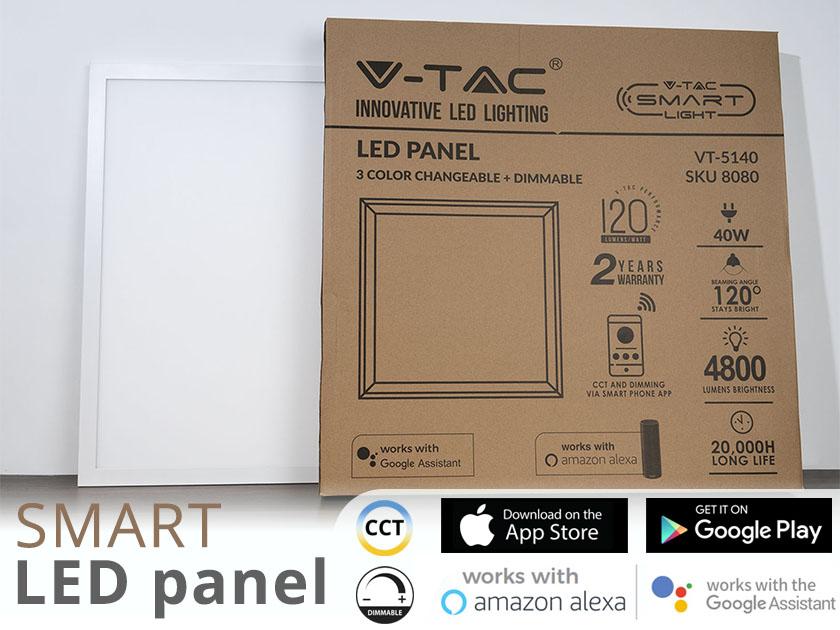 Smart LED panel termékbemutató