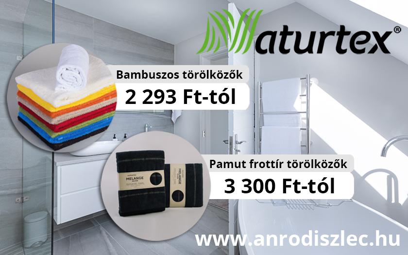 Bambusz és pamut törölközők a Naturtextől! Kiváló minőségű, prémium fürdőszobai kiegészítők.