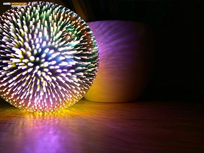 Közelről is nagyon jól mutat a 3D effekt.