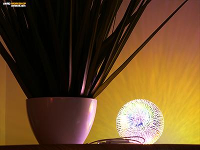 """Kellemes színeivel a """"Tűzijáték"""" lámpa kiváló hangulatvilágítás!"""