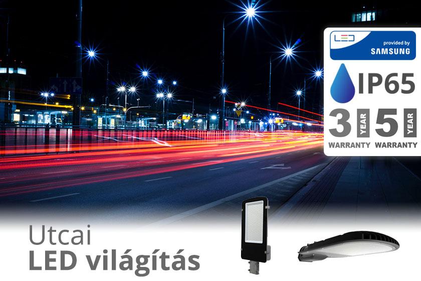 Samsung Chipes utcai LED világítás