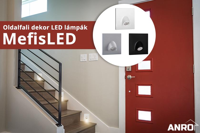 Oldalfali LED világítás a Kanluxtól!