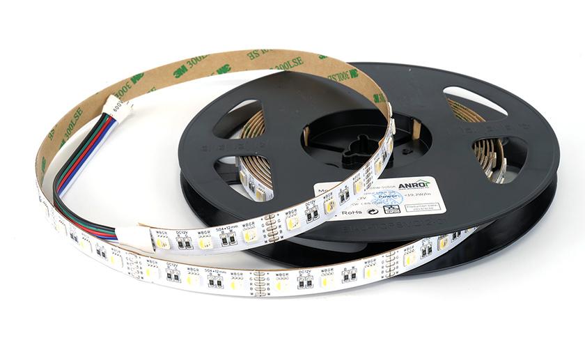 RGB és RGB+W LED szalag típusok