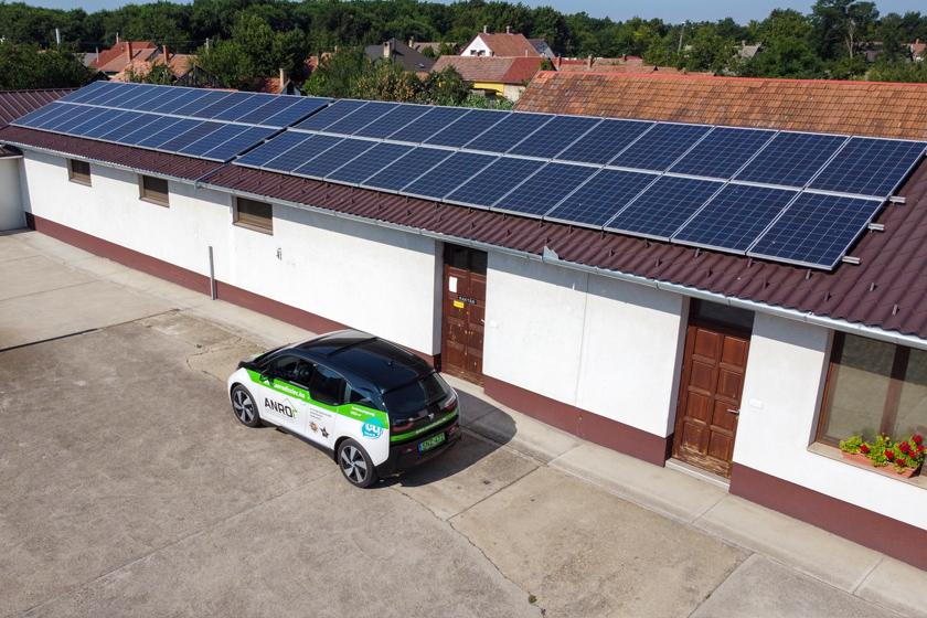 10 kWp napelem rendszerhez 12 kWp napelem