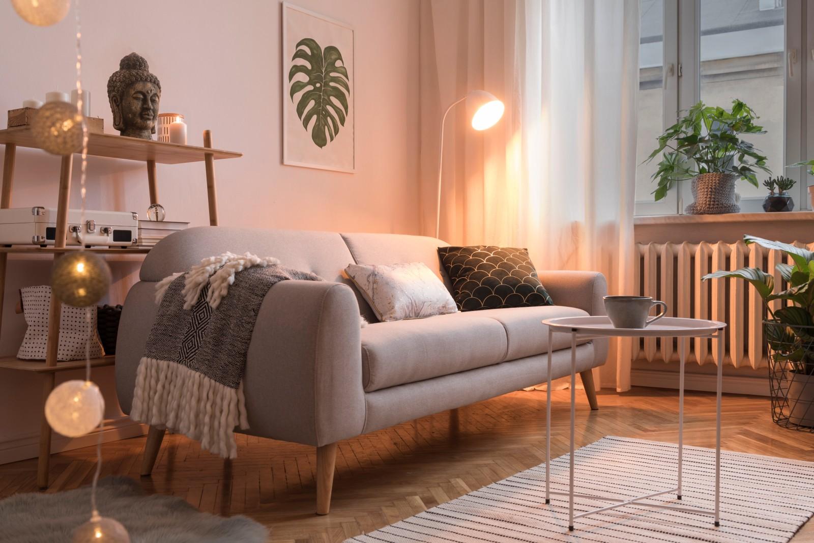Állólámpa nappaliba