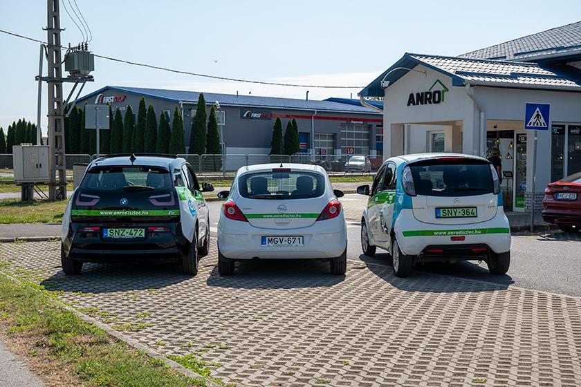 BMW i3 - Opel Corsa -  Citroen C-zero összehasonlítás hátulról
