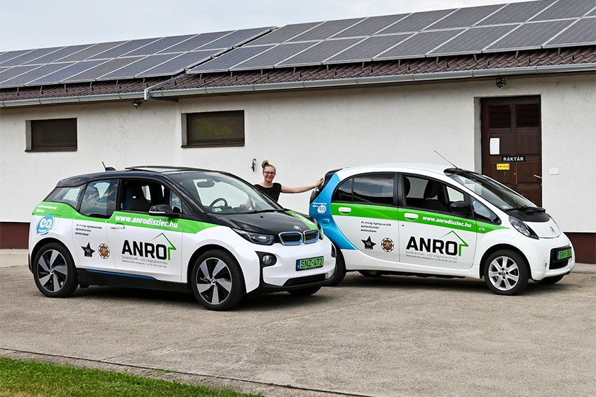 Elektromos autóink