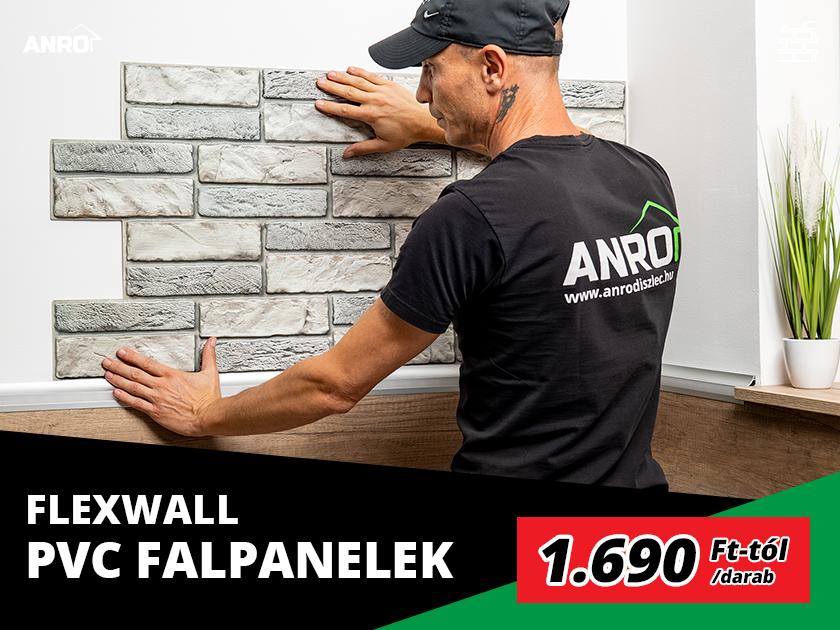 FlexWall PVC falpanel, Delap